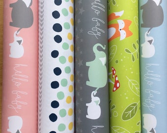 ANY 3 ROLLS of giftwrap | wrapping paper | variety | discount