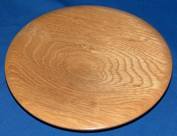 White Oak Plate -Understatement- Pierced Foot 16-03