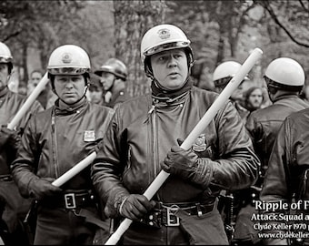 RIPPLE OF FEAR, attack squad, Clyde Keller photo 1970
