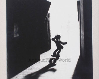 Toy figure silhouette antique abstract photo J. Murray