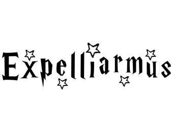 Harry Potter Expelliarmus Decal