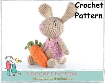 Amigurumi Pattern Bunny Easter Bunny Toy Pattern Crochet Pattern Amigurumi Bunny Crochet Pattern Crochet Pattern Amigurumi Crochet Pattern