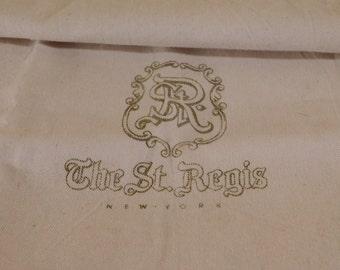 Vintage Laundry Bag St Regis Hotel New York