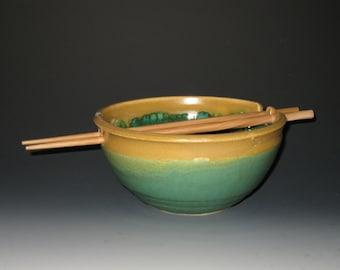 Hand-Thrown Rice Bowl