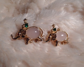 1950's Scatter Pins Set-Elephants with Riders