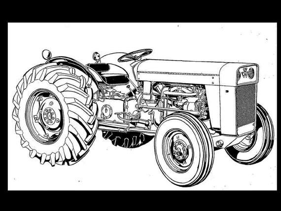 Massey Ferguson Tractor Parts Diagram