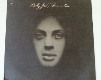 """Billy Joel - The Piano Man - """"You're My Home"""" - """"Captain Jack"""" - """"Ain't No Crime"""" - Columbia 1979 Re-Issue - Vintage Vinyl LP Record Album"""