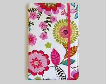 Kindle Cover Hardcover, Kindle Case, eReader, Kobo, Kindle Voyage, Kindle Fire HD 6 7, Kindle Paperwhite, Nook GlowLight Modern Flower
