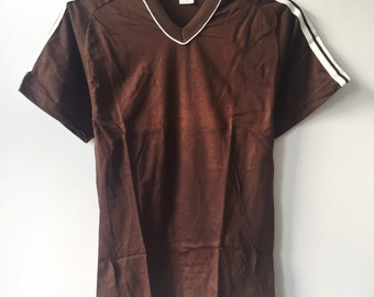 vintage russell athletic softball shirt men's size small deadstock NWOT 90s