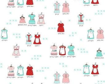ON SALE Riley Blake Designs A Little Sweetness By Tasha Noel Main White