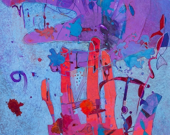 Intuit II, Giclée Print, Open Edition Print, Signed by Artist
