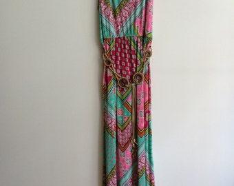 Maxi Slip Dress Plus Size