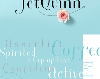 Jet Quinn Fashion Font Download With Swashes