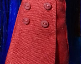 Blythe/Dal Button Skirt