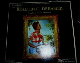 Al Sack And His Orchestra ?– Beautiful Dreamer - Stephen Foster Melodies LP Vinyl Record
