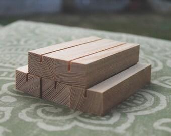 Wood Place Card Holder, Wedding Card Holder, Wedding card holder for receptions, Wedding invitation stands, Photo stand, Card Holder