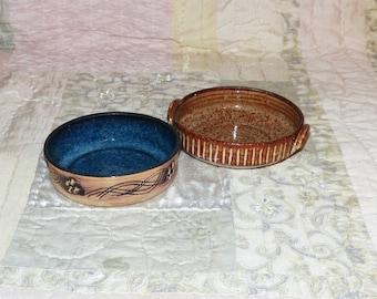 Two Artisan Pottery Bowls - 2040