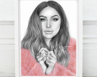 Jamie Genevieve illustration by Robyn Toria