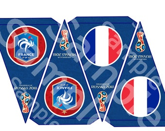 France World Cup Banners 2018 Fifa bunting