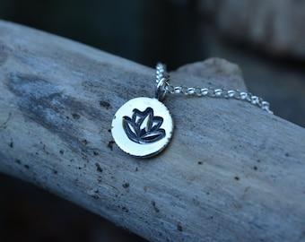 Lotus Necklace, Lotus, Lotus Flower, Lotus Flower Necklace, Flower Necklace, Yoga, Yoga Jewelry