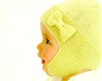 Soft Knit Baby Hat, Baby Knit hat, sizes from Newborn
