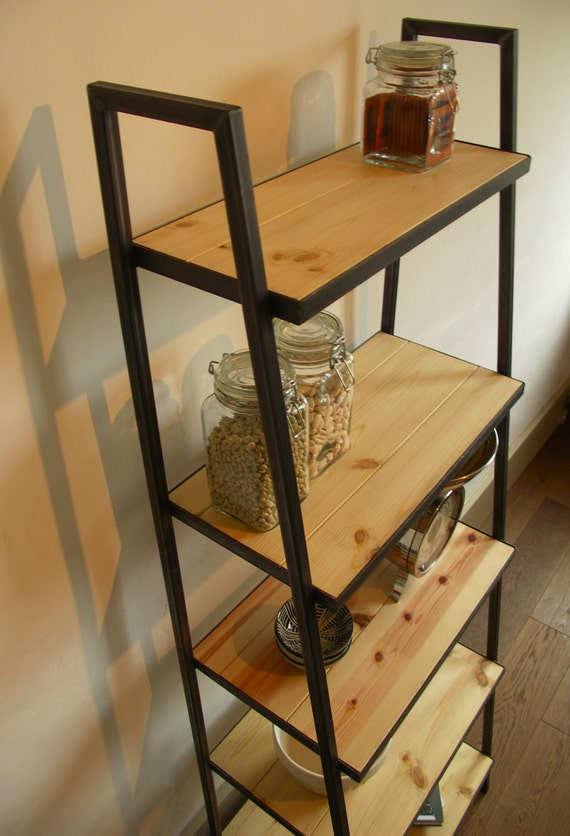 Preferred Industrial style ladder shelf unit VH36