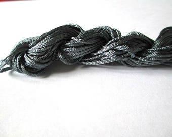 Nylon string grey 2mm 12mm skeins
