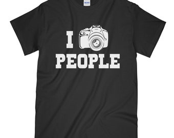 I Shoot People, Camera Shirt, Photographer, Photographer Shirt, I Shoot People Shirt, Camera T-Shirt, Gift For Him, Gift For Her