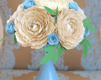 English Rose Table Bouquet