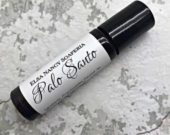 PALO SANTO Single Note Essential Oil , Custom perfume, Botanical Perfume , Aromatherapy , Natural Perfume , Valentine's Day Gifts