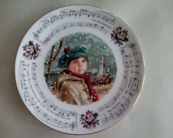 Royal Doulton decorative Christmas carol plate