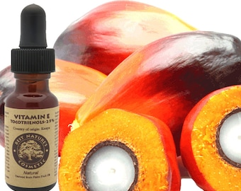 Natural Vitamin E (Tocotrienols - 25%) Derived from Palm Fruit Oil