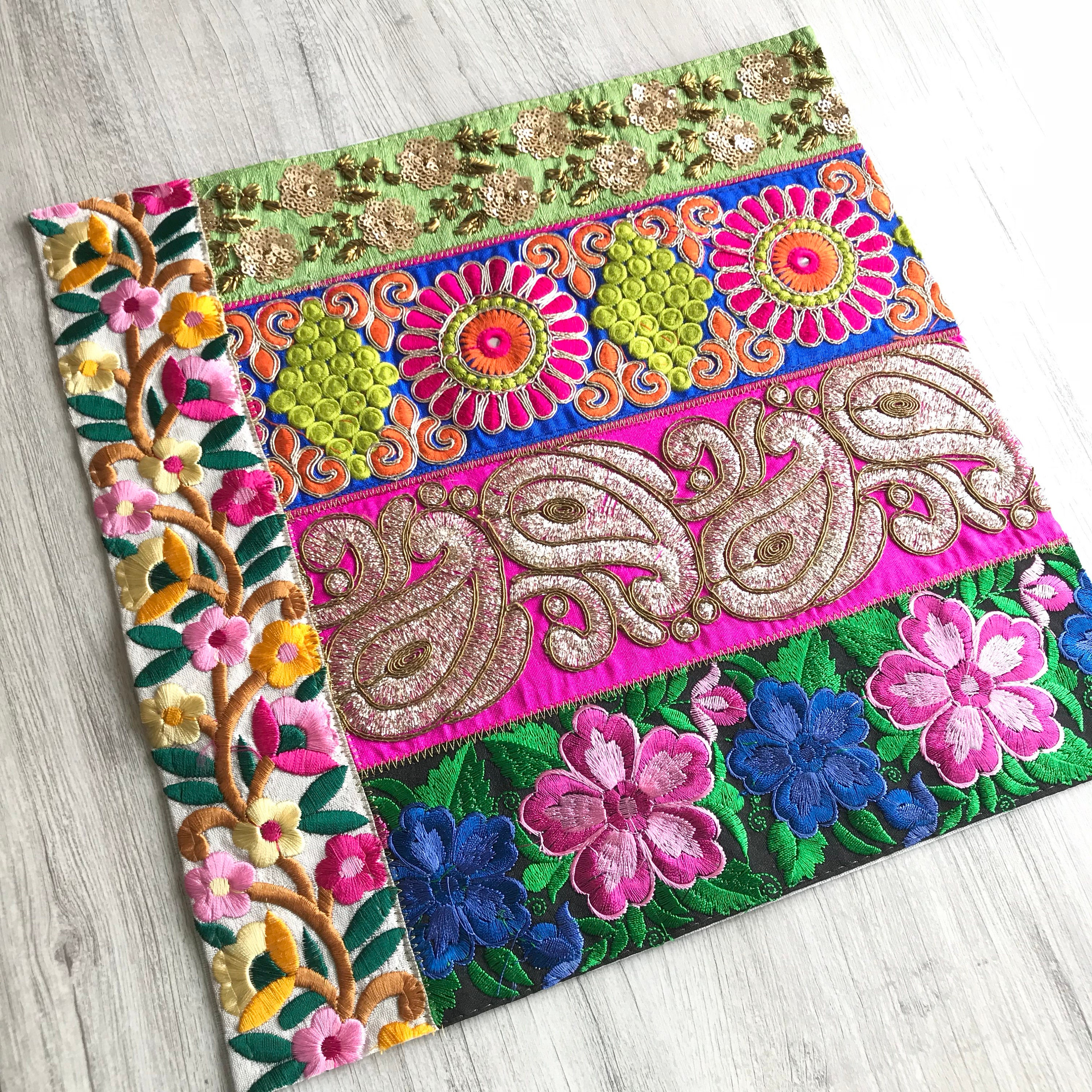 orange bohemian itm set topanga quilt quilts floral ebay