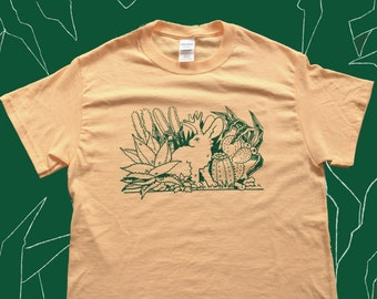 Jackalope Shirt ( Handpulled Screenprint)