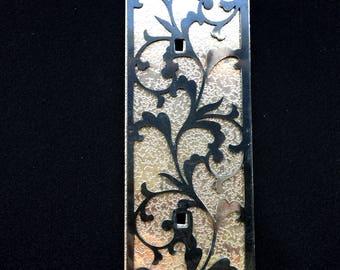 Japanese Metal Plates -  Furniture Plates - Leaf (MP60)