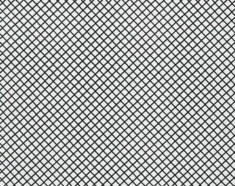 Remix - Crisscross in Ebony - Ann Kelle - Robert Kaufman (AAK-15240-189)