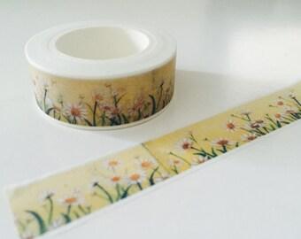 Wild Daisies Washi Tape