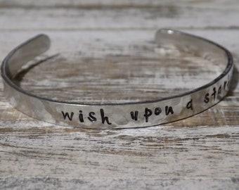 Wish Upon A Starfish Aluminum Bracelet