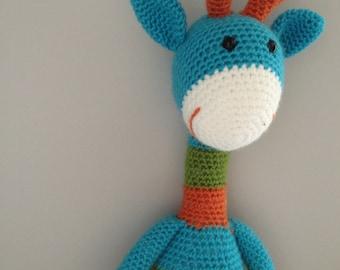 PATTERN Joshua the Giraffe - Stuffed Animal Crochet Pattern