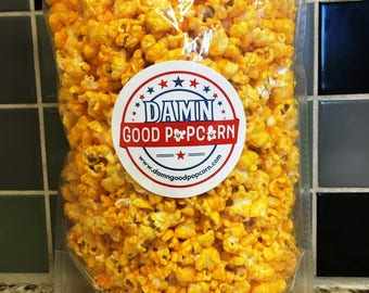 Extra Cheese Please Gourmet Cheddar Cheese Popcorn 8 oz Bag