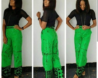 Ankara pant trousers -Antique pant-African print trouser pants -Antique pant-Antique trousers-gorgeous trousers