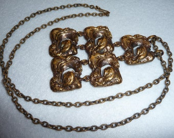 Pendant. Bronze. Finland. Vintage.