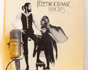 "ON SALE Fleetwood Mac Vinyl Record Albums LPs 1970s Classic Rock and Roll West Coast Soft Rock ""Rumours"" (1977 Wb w/""Go Your Own Way"", ""Drea"