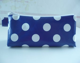 Kit trendy blue with white dots