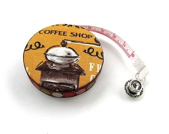 Measuring Tape Coffee Lovers Retractable Tape Measure