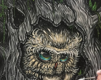 The Haunted Forest Series: Tree Owl