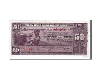 south viet nam 50 d<ox>ng 1956 km #7a unc(65-70) 805787