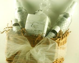 Mother's Day Gift Basket - Aromatherapy Gift Set - Bath Gift Set
