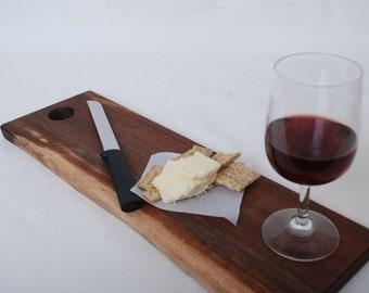 Black Walnut Cutting or Bread Board Includes Choice of Knife