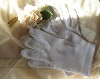 White  Gloves Vintage Elegant Tea Party 1st Communion Wedding Dance Garden Party  Woman's Accessories  WhenRosesBloom